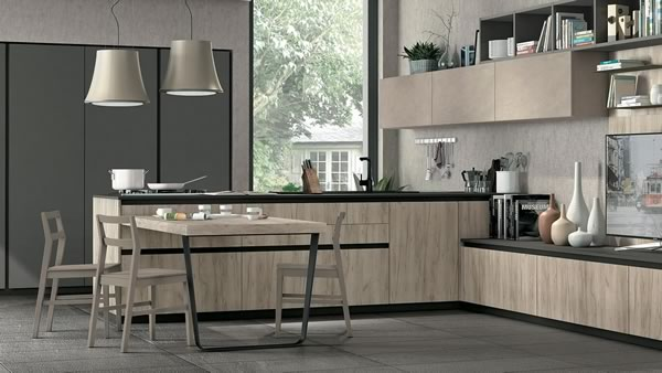 Contemporary Kitchen 001