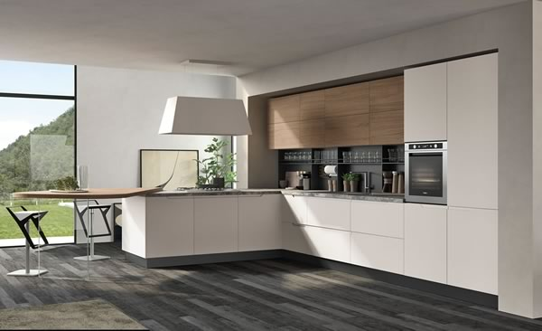 Contemporary Kitchen 002
