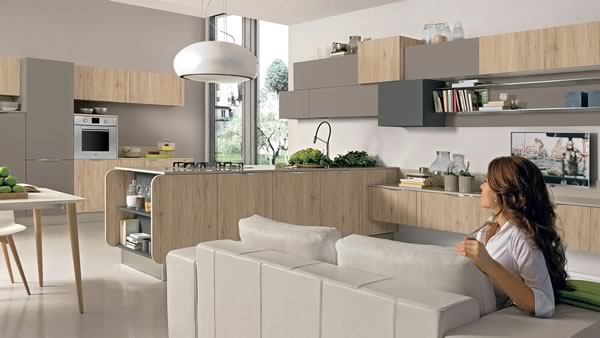 Contemporary Kitchen 006