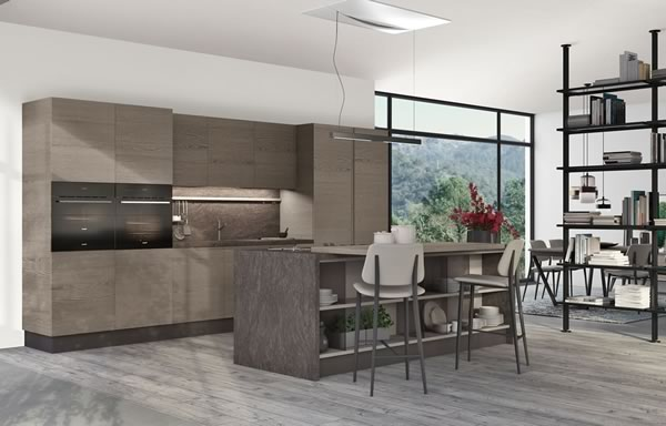 Contemporary Kitchen 012