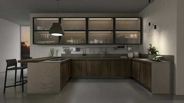 Contemporary Kitchen 013