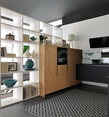 Contemporary Kitchen 016