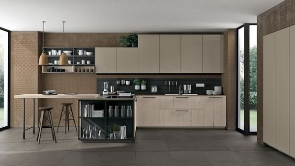 Contemporary Kitchen 017