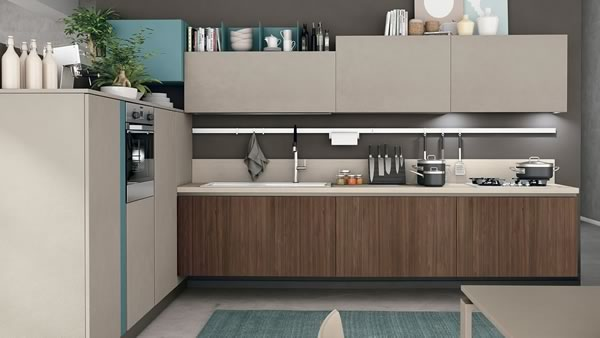 Contemporary Kitchen 019
