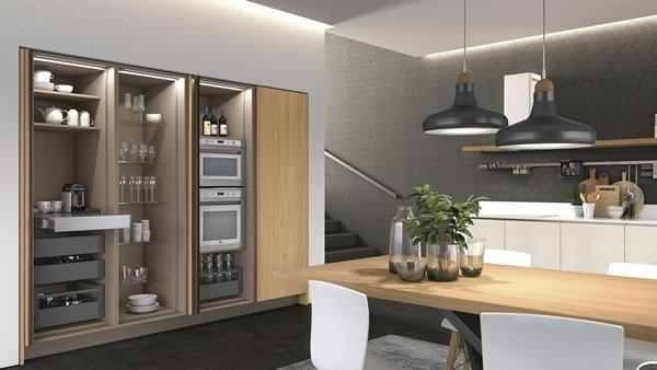 Contemporary Kitchen 022