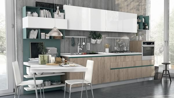 Contemporary Kitchen 028