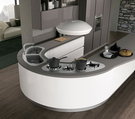 Contemporary Kitchen 029
