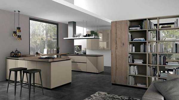 Contemporary Kitchen 035
