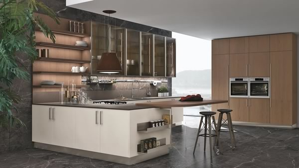 Contemporary Kitchen 036