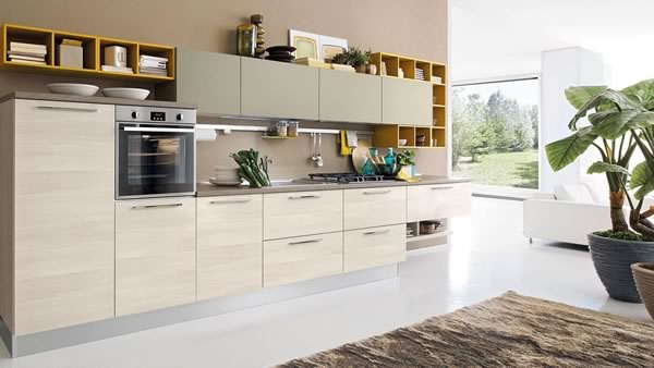 Contemporary Kitchen 046