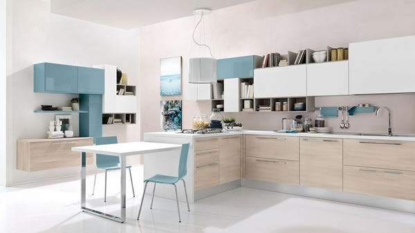 Contemporary Kitchen 048