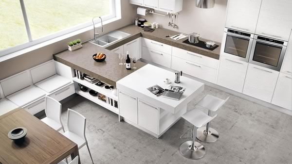 Contemporary Kitchen 049